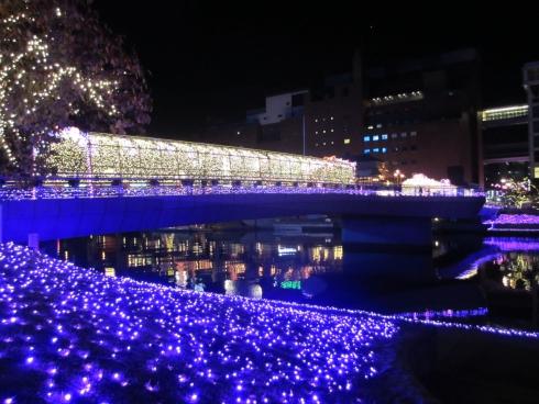 小倉駅周辺イルミ